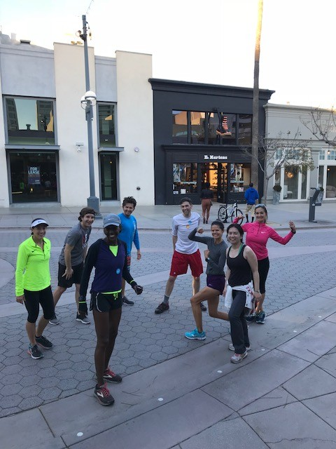 downtown run club Santa Monica Janes Elite Racing