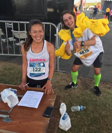 Rachel Miura Janes Peter Bergmann Guinness World Record