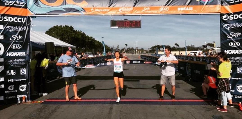 Rachel Miura Janes Racing OC Wahoo's 5k