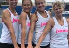 Janes Elite Racing Masters 4x800m Record