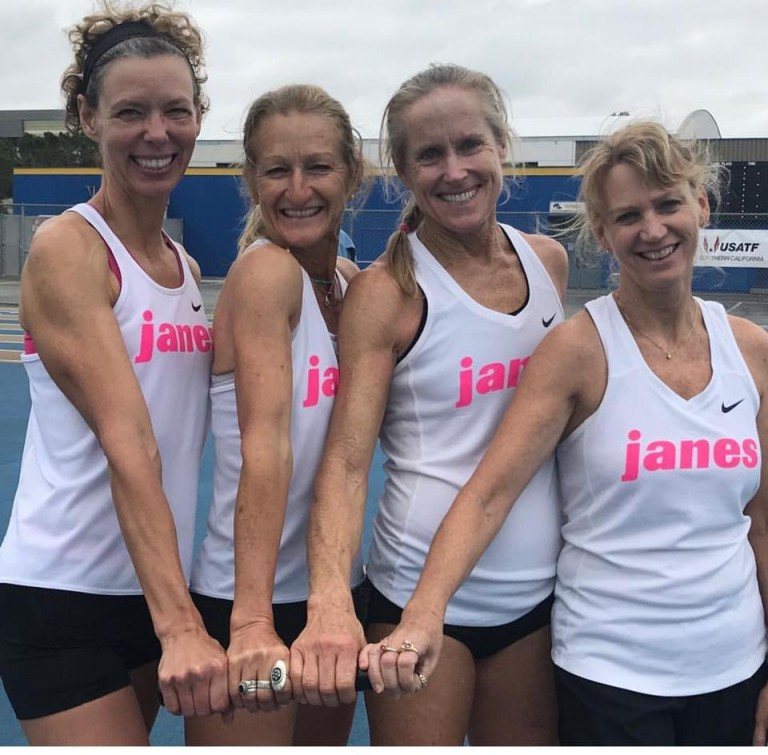 Janes Elite Racing Masters 4x800m Record